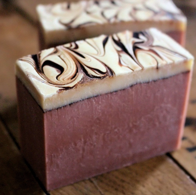 Raspberry Porter Cold Process Soap