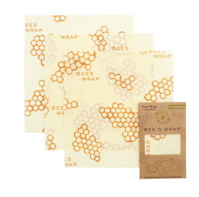 Set of 3 Medium Bee's Wrap