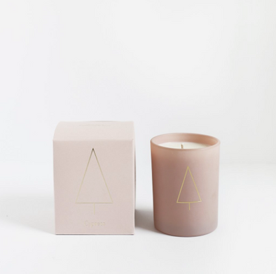 Cypress Pink Disco Candle