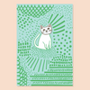 Kitcat Pin and Post Card
