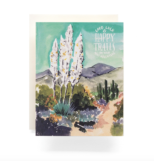 Agave Happy Trails - Greeting Card