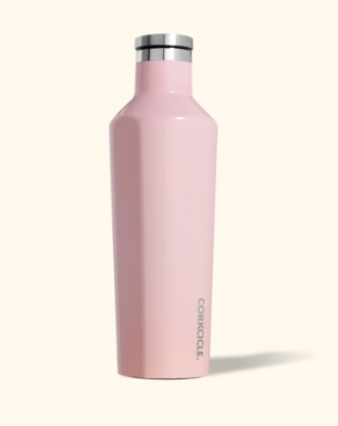 16 oz Gloss Rose Quartz Canteen