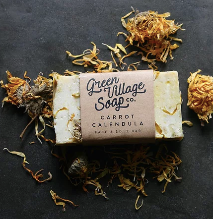 Carrot Calendula Soap