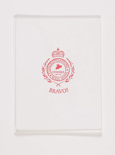 Bravo Greeting Card