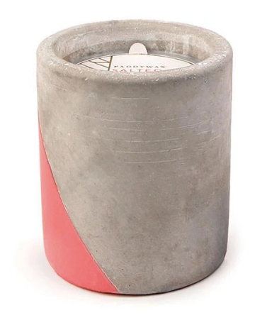 Urban Concrete Pot Candle 12oz