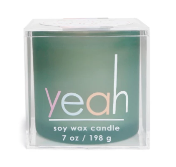 Makes You Wanna Say Yeah Candle 7oz