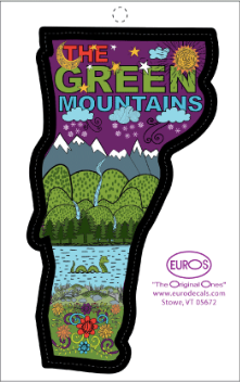 VT Green Mountains Decal