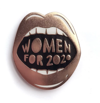 Women For 2020 Pin