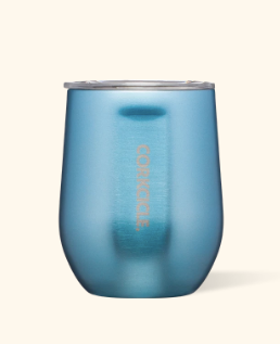 12 oz Stemless Moonstone Tumbler