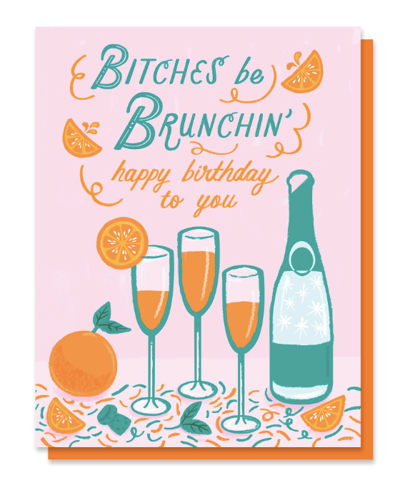Brunchin' Card