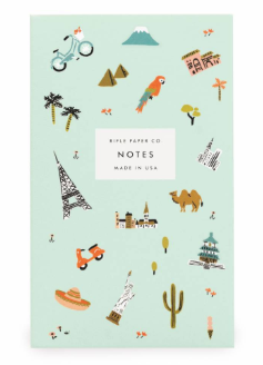 Wanderlust Pocket Notepad
