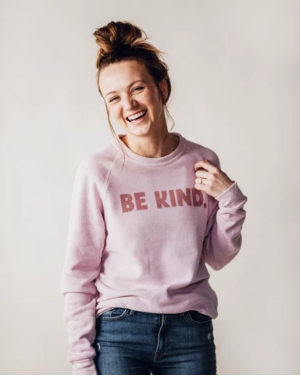Be Kind Sweatshirt - Pink