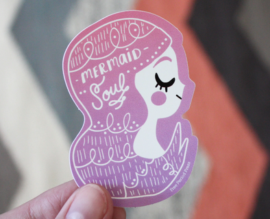 Mermaid Soul Sticker