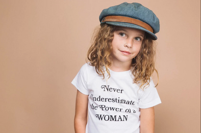 Kids Never Underestimate Tee