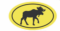Moose Mini Sticker