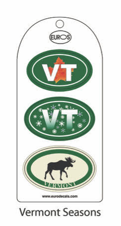 VT Seasons Set of 3 Stickers