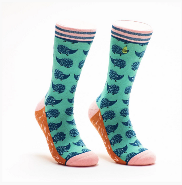 Hedgehog Crew Socks