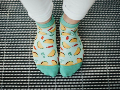 Let's Taco Bout It Shorty Socks