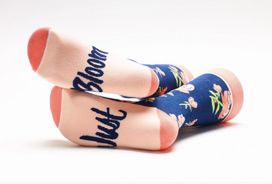 Just Bloom Crew Socks