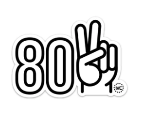 802 Peace Sticker
