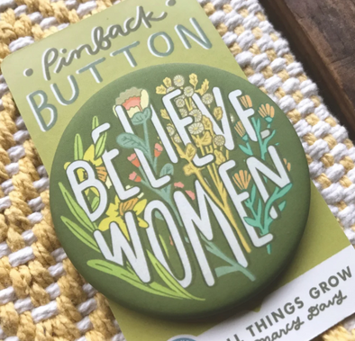 Believe Women Pin