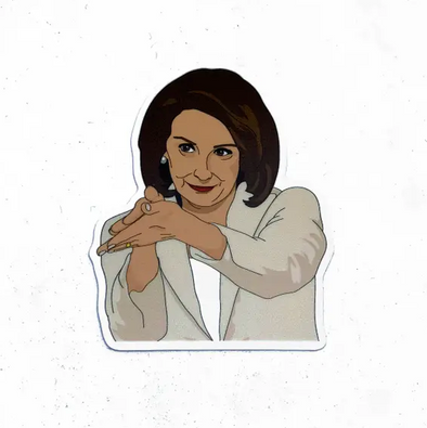 Nancy Pelosi Clap Back Sticker