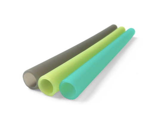 Reusable Silicone Straws- Extra Wide - Multi Color