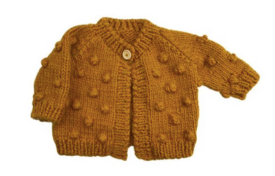 Children's Popcorn Cardigan