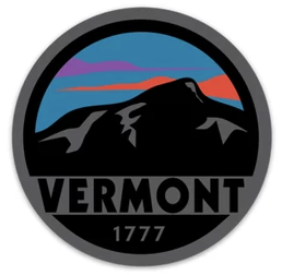 Vermont Sunset Sticker