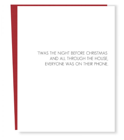 Phone Christmas Card