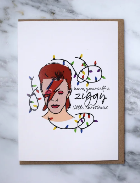 David Bowie Holiday Card