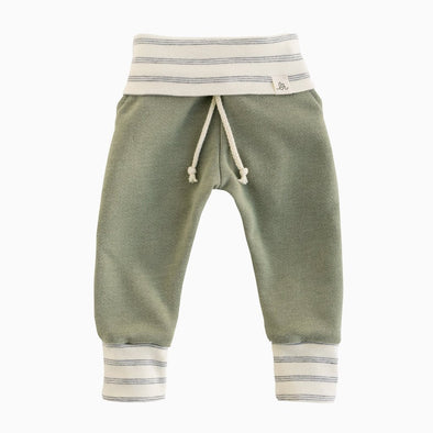 Sea Green and Shipley Stripe Sweat Pants