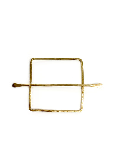 Square Hair Slide