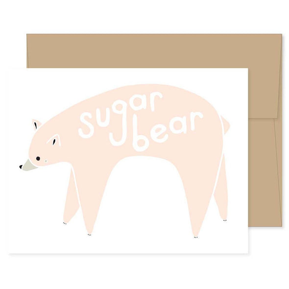 Sugar Bear Greeting Card