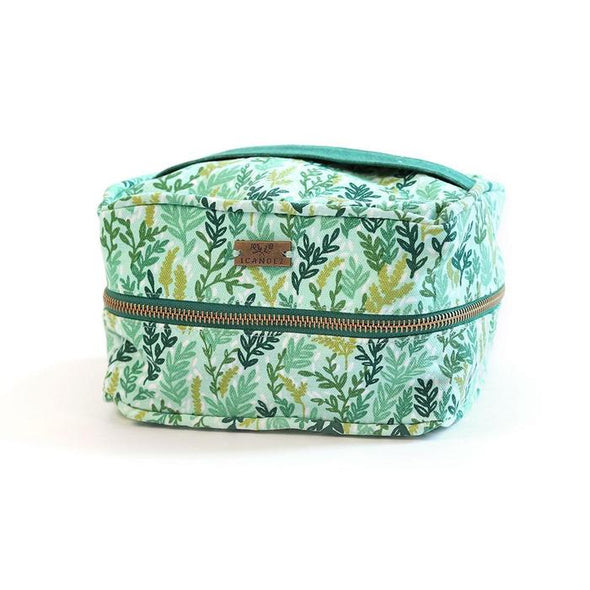 Ambrose Cosmetic Pouch - Mint Meadow