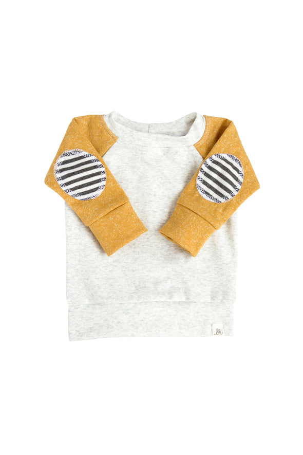 Mustard Patch Sweater