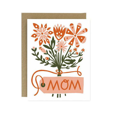 Mother's Day Flower Bouquet Card