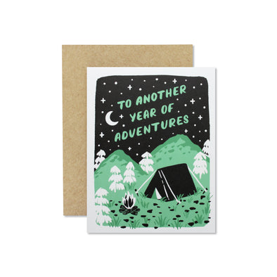 Year of Adventures Card