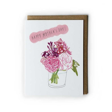 Pink Blossom Mother's Day Card