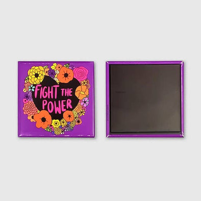 Fight the Power Oversized Magnet