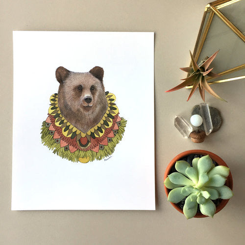 Collector: The Bear - Framed Print (8x10)