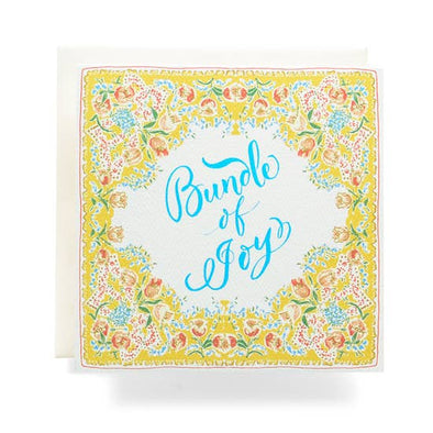 Handkerchief Bundle of Joy Card