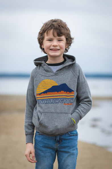 Youth Burlington Vermont Hoodie