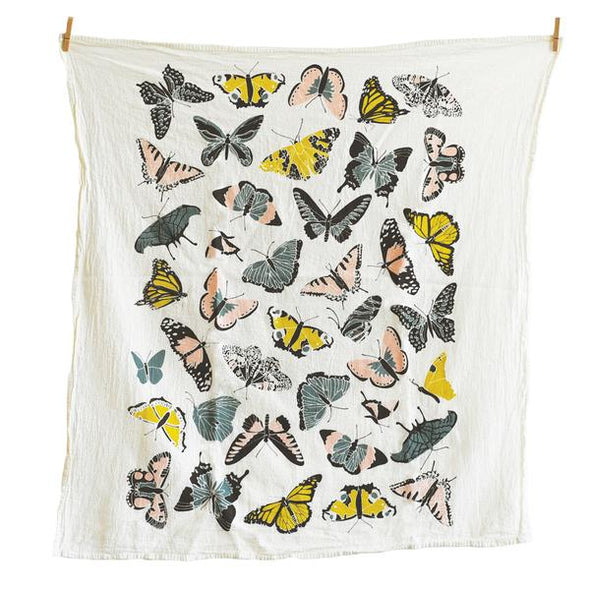 Butterfly House Tea Towel