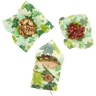 Lunch Pack In Forest Floor Print Bee's Wrap