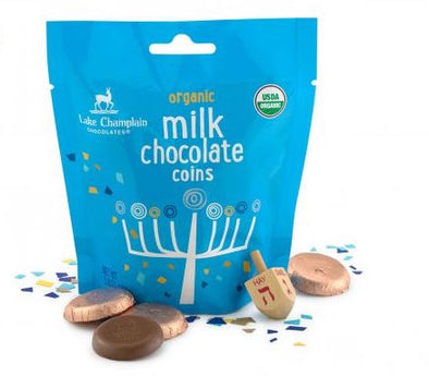 Hanukkah Gelt Milk Chocolate Coins