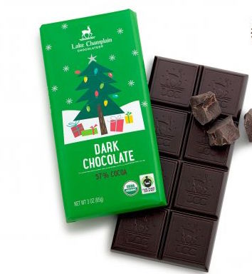 Dark Chocolate Holiday Bar