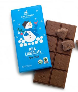 Milk Chocolate Holiday Bar