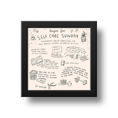 Self Care Art Print