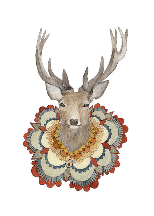 Collector: The Deer - Art Print